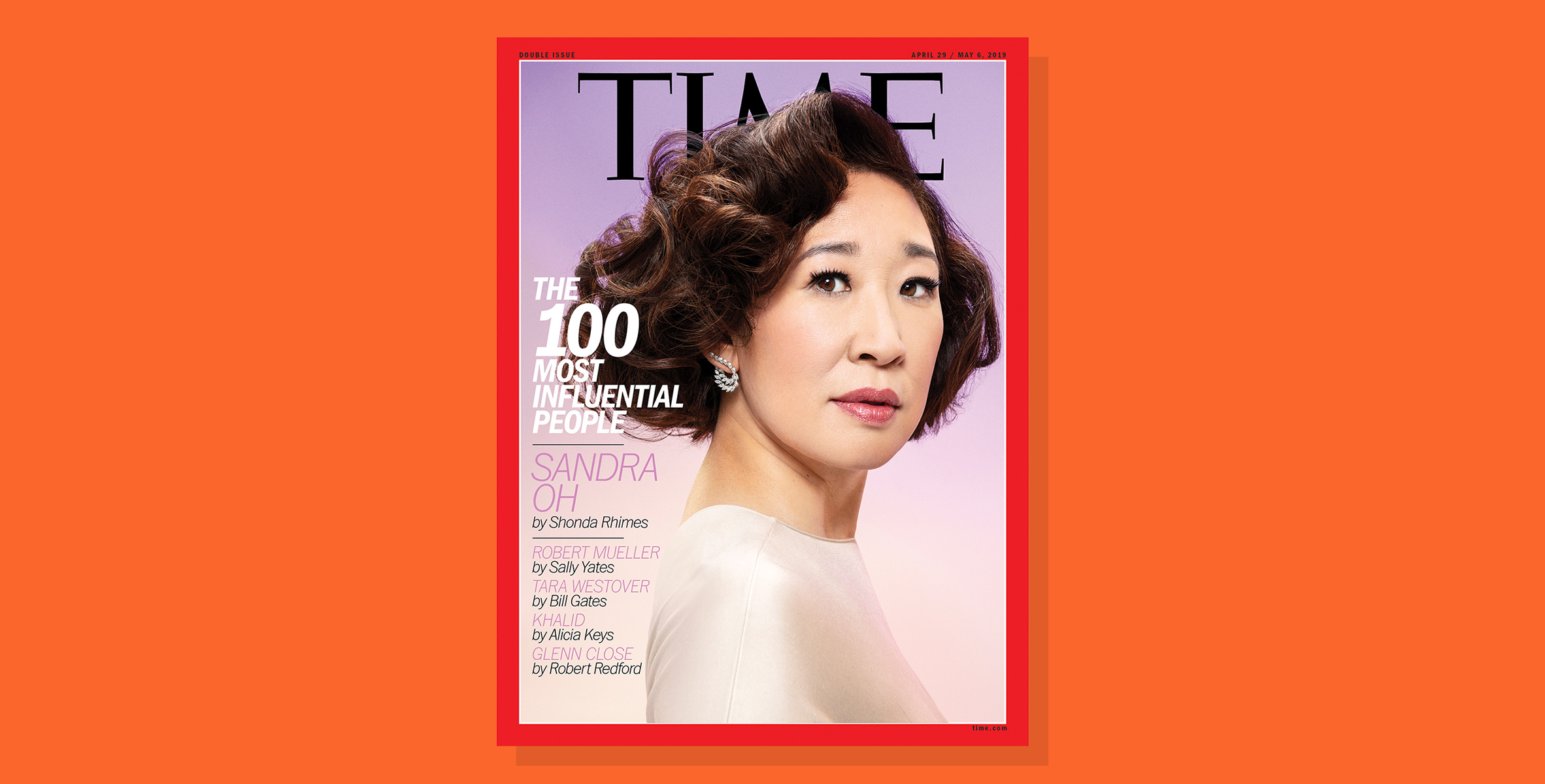 sandra oh most influental people time 2019