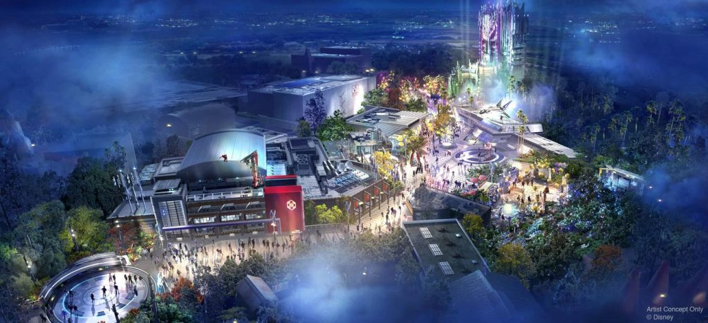 Avengers Campus 'Marvel Land' Attractions