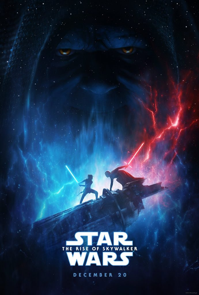 official poster for Star Wars: The Rise of Skywalker
